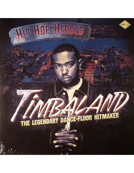 "2LP TIMBALAND ""HIP HOP HEROES INSTRUMENTALS VOL.2"""