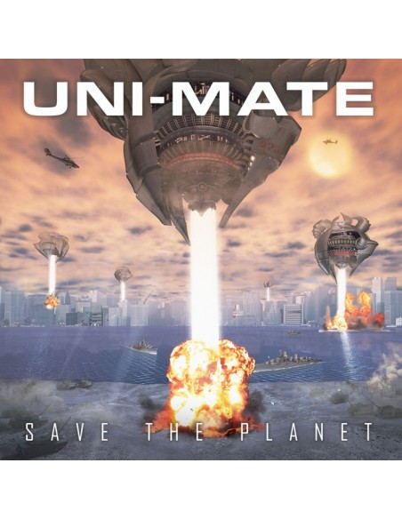"VINILO LP UNI-MATE ""SAVE THE PLANET"""