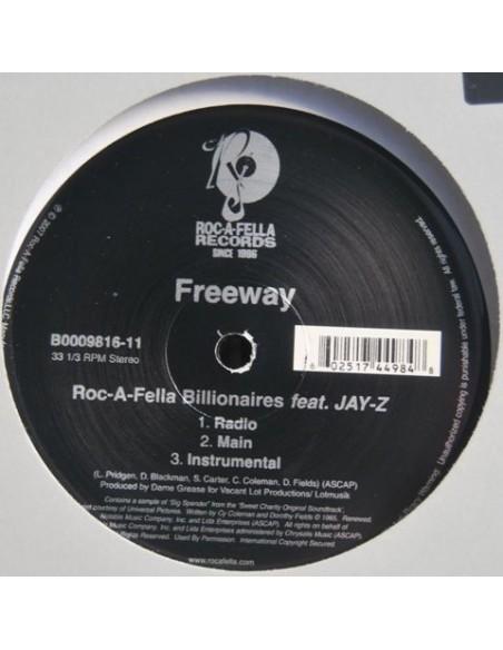 """FREEWAY """"ROC-A-FELLA-BILLIONAIRES"""" MX"""
