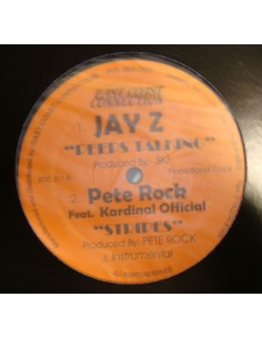 "JAY-Z / PETE ROCK / FABIO ""PEEPS TALKING/STRIPES"" MX"