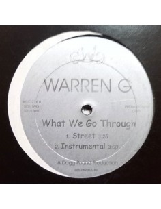 "WARREN G / MAC 10 & THA DOGG POUND ""WHAT WE GO THROUGH/NOTHIN' BUT THE CAVI HIT"" MX"