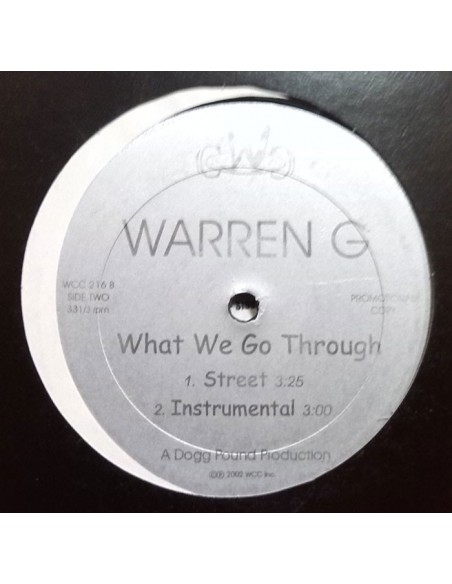 "WARREN G / MAC 10 & THA DOGG POUND ""WHAT WE GO THROUGH/NOTHIN' BUT THE CAVI HIT"" MX"