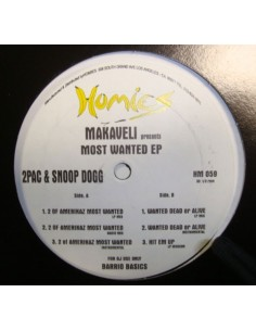 "MAKAVELI PRESENTS 2PAC & SNOOP DOGG ""MOST WANTED EP"""