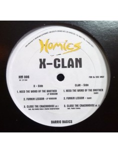 "X-CLAN ""HEED THE WORLD OF BROTHER"" MX"