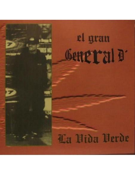 """CD EL GRAN GENERAL D """"LA VIDA VERDE"""""""