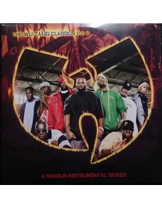 "2LP WU-TANG CLAN ""A SHAOLIN INSTRUMENTAL SERIES VOL.2"""