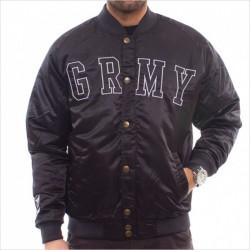 Cazadora GRIMEY modelo GRMY SATIN JACKET en color negro