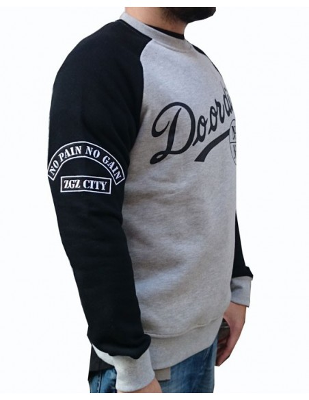 Sudadera NPNG DO OR DIE GREY