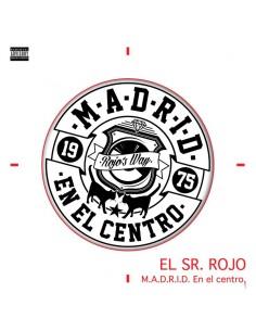 "VINILO LP EL SR. ROJO ""M.A.D.R.I.D. EN EL CENTRO"""