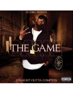 """CD THE GAME """"STRAIGHT OUTTA COMPTON"""""""