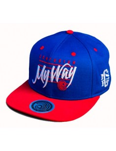 Gorra snapback CNF MY WAY BLUE