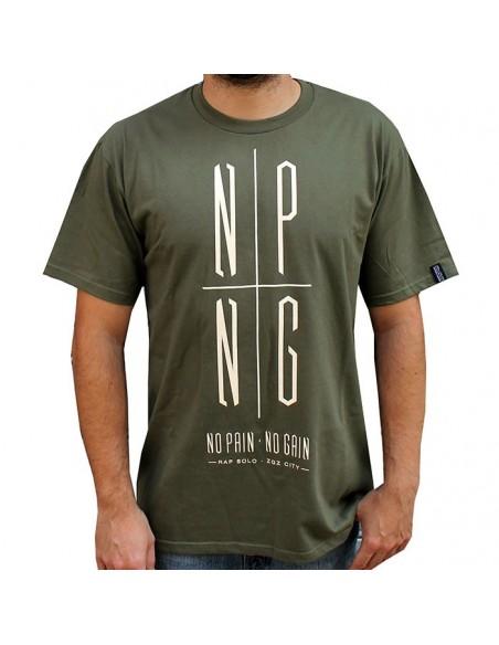 Camiseta RAPSOLO LOGO NPNG MILITARY