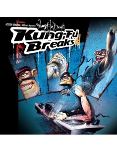"VINILO ACCION SANCHEZ & JEFE DE LA M ""KUNG-FU BREAKS VOL.1"""