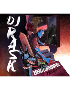 "CD DJ RASK ""UNDERGROUND THE MIXTAPE"""