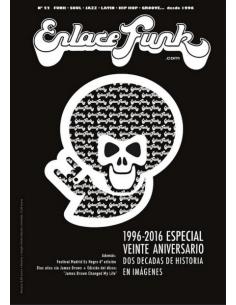 """Revista ENLACE FUNK Nº 52 + VINILO 7"""""""