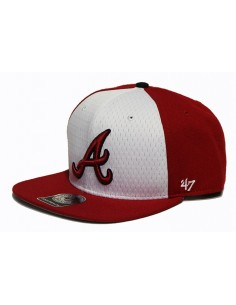 Gorra 47 BRAND ATLANTA BRAVES RED-BLACK