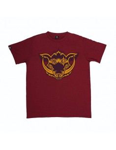 Camiseta  JAVATO JONES LOGO GRANATE