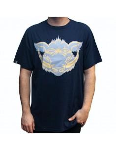 Camiseta  JAVATO JONES LOGO AZUL MARINO
