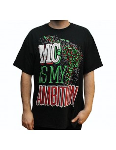 Camiseta  JAVATO JONES MC IS MY AMBITION