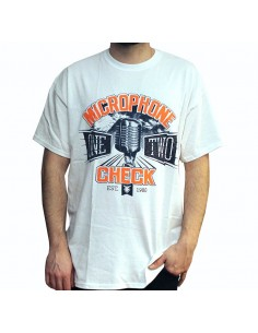 Camiseta  JAVATO JONES MICROPHONE CHECK