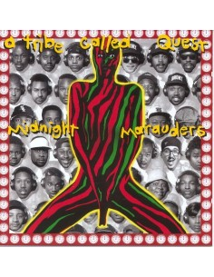"VINILO LP A TRIBE CALLED QUEST ""MIDNIGHT MARAUDERS"""