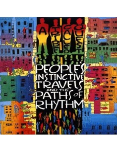 """CD A TRIBE CALLED QUEST """"PEOPLE'S INSTICTIVE TRAVELS AND THE PATHS OF RHYTHM"""""""
