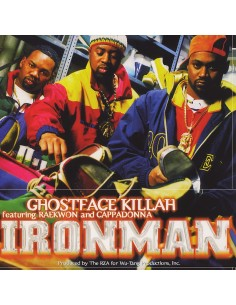 "VINILO 2LP GHOSTFACE KILLAH ""IRONMAN"""