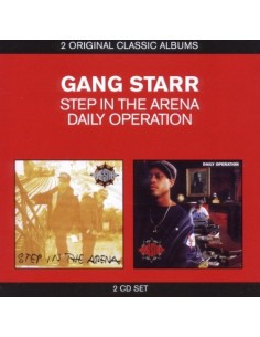 "PACK 2CD GANG STARR ""STEP IN THE ARENA/DAILY OPERATION"""