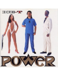 "VINILO LP ICE-T ""POWER"""