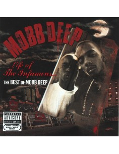 """CD MOBB DEEP """"LIFE OF THE INFAMOUS...THE BEST OF MOBB DEEP"""""""