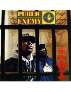 """CD PUBLIC ENEMY """"IT TAKES A NATION OF MILLIONS TO HOLD US BACK"""""""