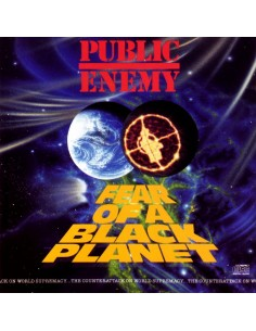 "CD PUBLIC ENEMY ""FEAR OF A BLACK PLANET"""