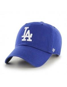 Gorra Curved visor 47 BRAND LOS ANGELES DODGERS ROYAL BLUE