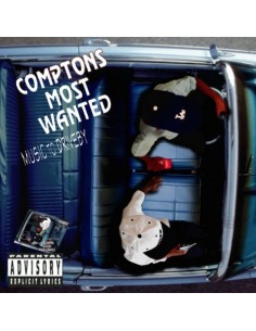 "CD COMPTON'S MOST WANTED ""MUSIC TO DRIVE BY"""