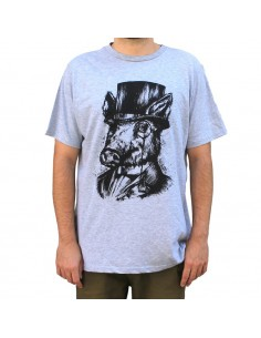 "Camiseta  JAVATO JONES ""MONÓCULO"""