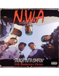 "CD N.W.A ""STRAIGHT OUTTA COMPTON (20TH ANNIVERSARY EDITION)"""