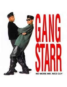 "VINILO LP GANG STARR ""NO MORE MR. NICE GUY"""