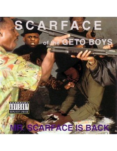 "VINILO LP SCARFACE ""MR. SCARFACE IS BACK"""