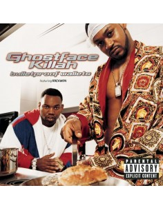"VINILO 2LP GHOSTFACE KILLAH ""BULLETPROOF WALLETS"""