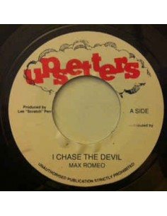 "VINILO SINGLE MAX ROMEO ""I CHASE THE DEVIL"""