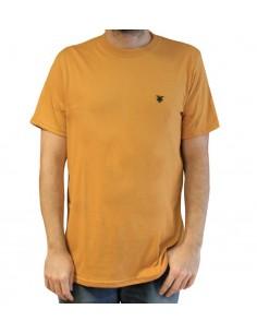 """Camiseta JAVATO JONES """"LOGO BASIC"""" AMARILLA"""