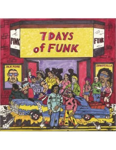 "VINILO LP DAM-FUNK & SNOOPZILLA ""7 DAYS OF FUNK"""
