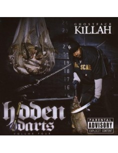 "CD GHOSTFACE KILLAH ""HIDDEN DARTS VOL.4"""