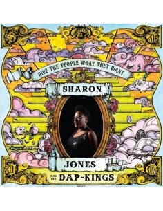 "VINILO LP SHARON JONES AND THE DAP-KINGS  ""GIVE THE PEOPLE WHAT THEY WANT"""