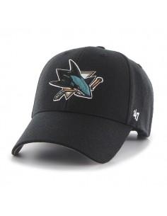 Gorra Curved visor 47 BRAND SAN JOSE SHARKS