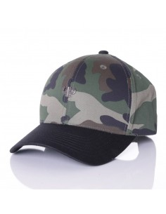 Gorra PELLE PELLE ICON PLATED CURVED CAMO