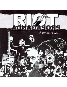 "RIOT PROPAGANDA ""AGENDA OCULTA"" Cd + libro"