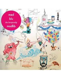 """VINILO EP MED/BLU/MADLIB  """"THE BURGUNDY EP"""""""