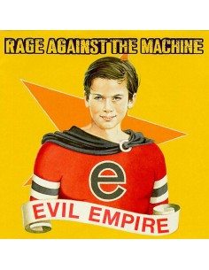 "VINILO LP RAGE AGAINST THE MACHINE ""EVIL EMPIRE"""