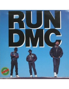"VINILO LP RUN DMC ""TOUGHER THAN LEATHER"""